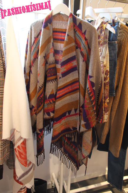 H&M_Fashionisima_Poncho indio marron